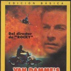 Cine: VAN DAMME´S INFERNO. DVD-3898. Lote 122015303