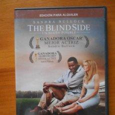 Cine: DVD THE BLIND SIDE - UN SUEÑO POSIBLE - EDICION DE ALQUILER - SANDRA BULLOCK (U4). Lote 122015531