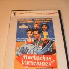 Cine: DVD MUCHACHAS EN VACACIONES. CONCHA VELASCO. CAJA FINA (EN ESTADO NORMAL). Lote 122017867