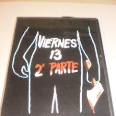 Cine: DVD VIERNES 13 2ª PARTE. 83 MINUTOS (EN ESTADO NORMAL). Lote 122018147