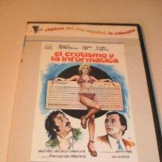 Cine: DVD EL EROTISMO Y LA INFORMÁTICA. ÁGATA LYS. 90 MINUTOS CAJA FINA (EN ESTADO NORMAL). Lote 122018519