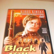 Cine: DVD BLACK KILLER. KLAUS KINSKY. 85 MINUTOS (EN ESTADO NORMAL). Lote 122018791