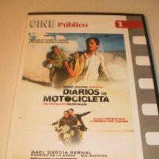 Cine: DVD DIARIOS DE MOTOCICLETA. (SOBRE VIAJE DEL CHE GUEVARA) 128 MINUTOS CAJA FINA (PRECINTADA) . Lote 122019675