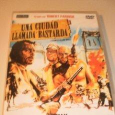 Cine: DVD UNA CIUDAD LLAMADA BASTARDA. TELLY SAVALAS. 97 MINUTOS (PRECINTADA). Lote 122020063