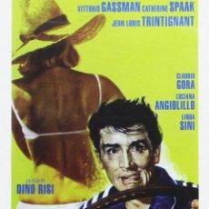 Cine: LA ESCAPADA. DVD. DINO RISI. CON VITTORIO GASSMAN. Lote 122507851
