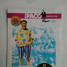 Cine: DVD CINE ESPAÑOL PACO MARTINEZ SORIA. Lote 122617318