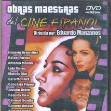 Cine: CANCIONES DE NUESTRA VIDA DVD: UN RAMILLETE DE ESPAÑOLISMO Y FOLKLORE...PARA DISFRUTAR VARIAS HORAS. Lote 122875279