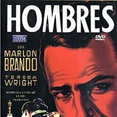 Cine: HOMBRES. DVD. FRED ZINNEMANN. CON MARLON BRANDO . Lote 122914719