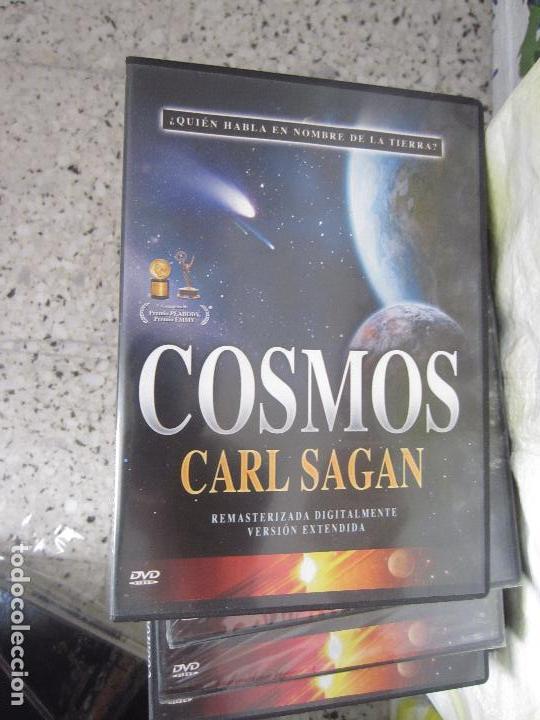 Cine: Cosmos Carl Sagan 13 dvd - Foto 2 - 123071627