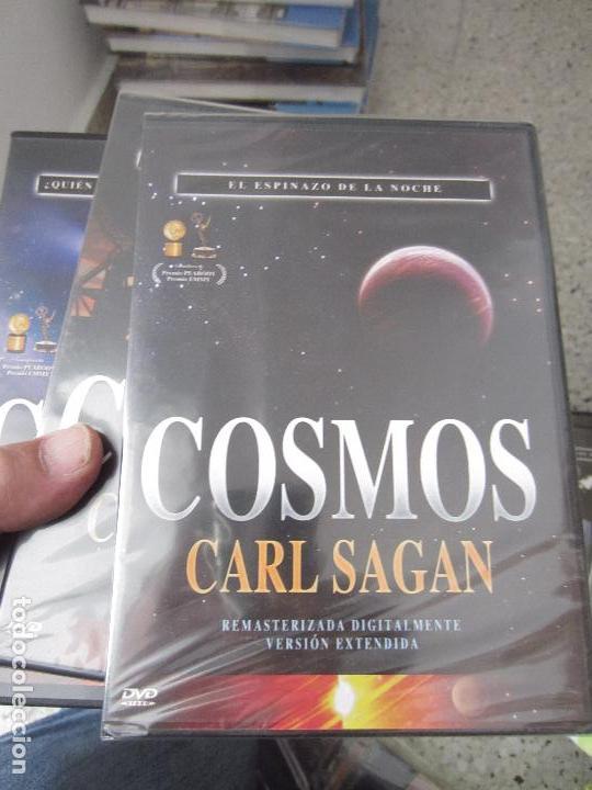 Cine: Cosmos Carl Sagan 13 dvd - Foto 3 - 123071627
