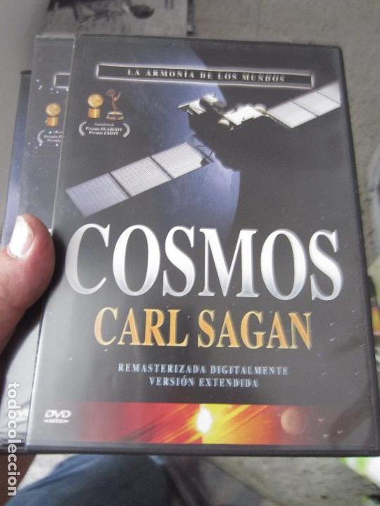 Cine: Cosmos Carl Sagan 13 dvd - Foto 4 - 123071627