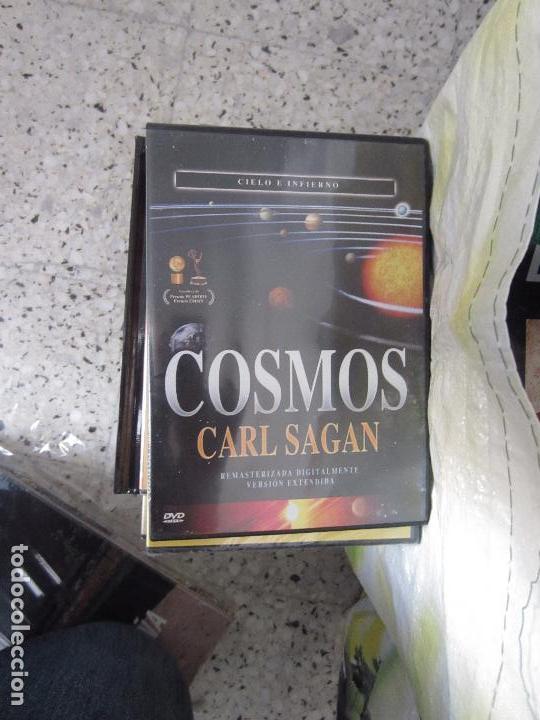 Cine: Cosmos Carl Sagan 13 dvd - Foto 5 - 123071627