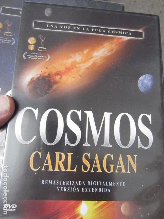 Cine: Cosmos Carl Sagan 13 dvd - Foto 6 - 123071627