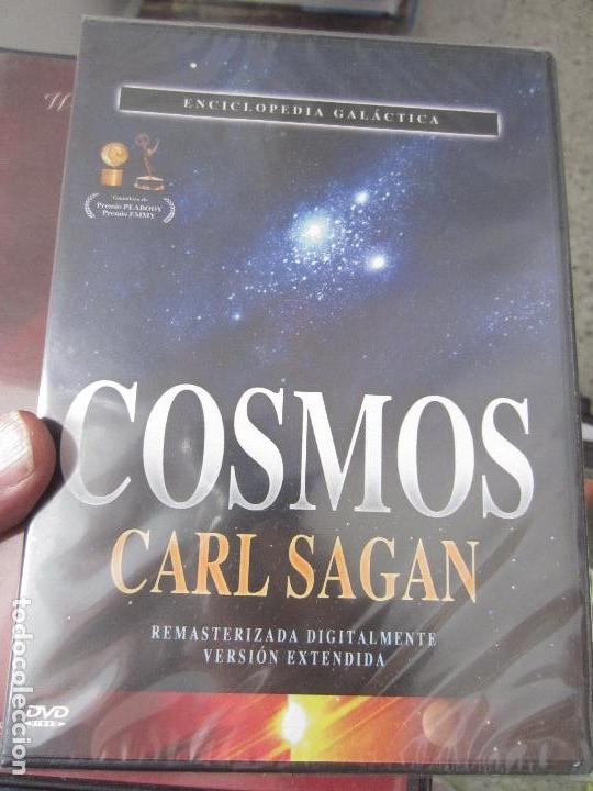 Cine: Cosmos Carl Sagan 13 dvd - Foto 7 - 123071627