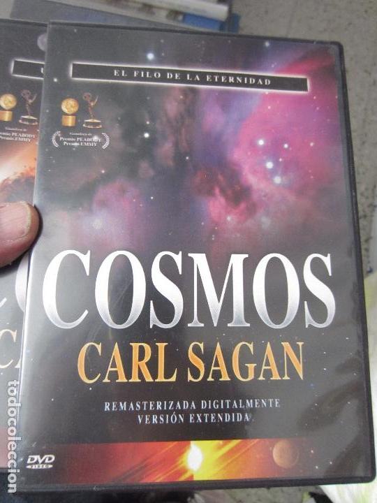 Cine: Cosmos Carl Sagan 13 dvd - Foto 8 - 123071627