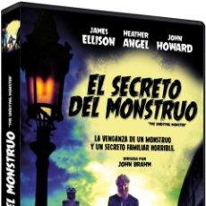 Cine: EL SECRETO DEL MONSTRUO (DVD-R) (THE UNDYING MONSTER). Lote 143957249