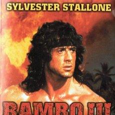 Cine: RAMBO III SYLVESTER STALLONE. Lote 123128111