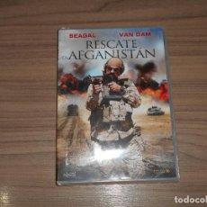 Cine: RESCATE EN AFGANISTAN DVD STEVEN SEAGAL VAN DAM AÑO 2016 NUEVA PRECINTADA. Lote 126244182