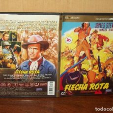 Cine: FLECHA ROTA - JAMES STEWART - JEFF CHANDLER - DE DELMER DAVES - DVD CAJA FINA EDICION PERIOD. Lote 123364895