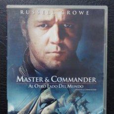 Cine: DVD MASTER & COMMANDER - RUSSELL CROWE. Lote 123378495