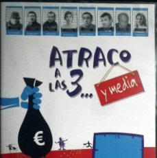 Cine: TODODVD: ATRACO A LAS 3... Y MEDIA (IÑAKI MIRAMÓN, JOSEMA YUSTE, JOSEP JULIEN, CRISTINA SOLÁ). Lote 123387951