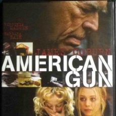 Cine: TODODVD: AMERICAN GUN (JAMES COBURN, VIRGINIA MADSEN, BARBARA BAIN) PARTICULAR. CAJA FINA. Lote 123389095