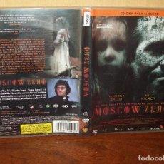 Cine: MOSCOW ZERO - VINCENT GALLO - VAL KILMER -DVD EDICION ALQUILER. Lote 197982790