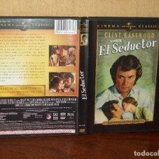 Cine: EL SEDUCTOR - CLINT EASTWOOD - GERALDINE PAGE - DIRIGIDA POR DON SIEGEL - DVD. Lote 293642743