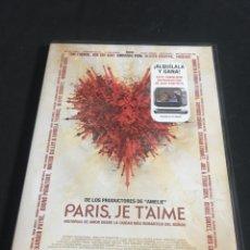 Cine: ( S15 ) PARIS JE TAIME - TOM TYKWER ( DVD SEGUNDA MANO ). Lote 123516418