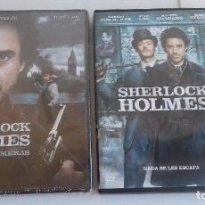 Cine: CINE DVD PELICULA SHERLOCK HOLMES Y JUEGO DE SOMBRAS 2 DISCOS DVDS. Lote 137117437