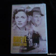 Cine: BREVE ENCUENTRO - DVD NUEVO PRECINTADO. Lote 219302758
