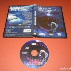 Cine: LA CAZA DEL TIBURON - DVD - REF.: 1544 - ONE FILMS - ANTONIO SABATO JR. - GRAND L. BUSH. Lote 206427941