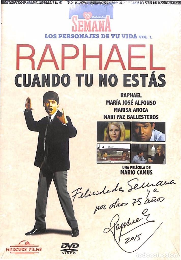 Dvd Raphael Cuando Tu No Estas Nuevo Precinta Sold Through Direct Sale 123878491