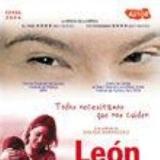 Cine: LEÓN Y OLVIDO (2004). Lote 124056155
