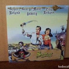 Cine: SANDOKAN - CONTRA EL LEOPARDO DE SARAWAK - RAY DANTON - DVD CAJA CARTON FINA. Lote 124142071