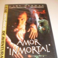 Cine: DVD AMOR INMORTAL. GARY OLDMAN. 116 MINUTOS (CAJA FINA PRECINTADA). Lote 124258123