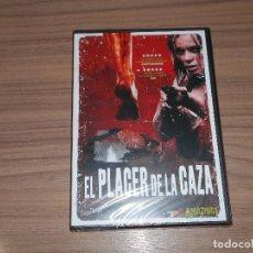 Cine: EL PLACER DE LA CAZA DVD TERROR NUEVA PRECINTADA. Lote 151720176