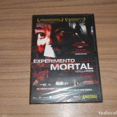 Cine: EXPERIMENTO MORTAL ISOLATION DVD TERROR NUEVA PRECINTADA. Lote 124506074