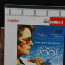 Cine: SWIMMING POOL - FRANÇOIS OZON - PÚBLICO - SLIM - . Lote 124446307