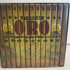 Cine: DUELOS DE ORO - LOS BALONES DE ORO FRENTE A FRENTE - 13 X DVD - 2006 - EX+/EX+. Lote 124520347