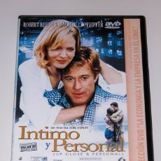 Cine: INTIMO Y PERSONAL - DVD. Lote 124684919