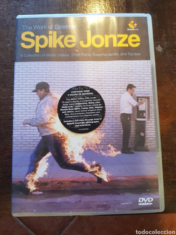 The Work of Director Spike Jonze  DVD de doble cara y libro de 53 páginas   En inglés