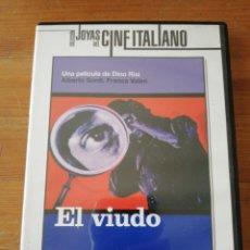 Cine: DVD EL VIUDO. DINO RISI.. Lote 124780426