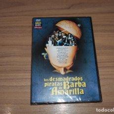Cine: LOS DESMADRADOS PIRATAS DE BARBA AMARILLA DVD JAMES MASON PETER BOYLE NUEVA PRECINTADA. Lote 126063327