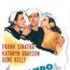 Cine: LEVANDO ANCLAS (1945). Lote 124970635