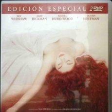 Cine: TODODVD: EL PERFUME EDICIÓN ESPECIAL 2DVD. TOM TYKWER (BEN WHISHAW, ALAN RICKMAN, DUSTIN HOFFMAN). Lote 125014923