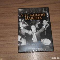 Cine: Y EL MUNDO MARCHA DVD NUEVA PRECINTADA. Lote 143152085