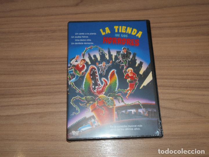 LA TIENDA DE LOS HORRORES DVD NUEVA PRECINTADA (Cine - Películas - DVD)