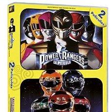 Cine: POWER RANGERS + TURBO POWER RANGERS 2 DVD NUEVA Y PRECINTADA DESCATALOGADA. Lote 125059955