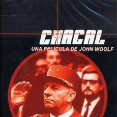 Cine: CHACAL Y THE JACKAL DESCATALOGADAS. Lote 125060463